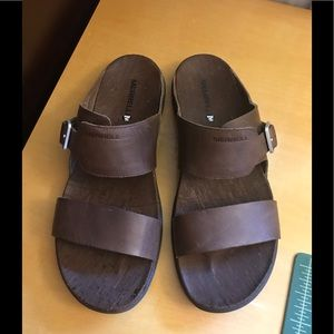 Merrell Leather Sandals Size 10